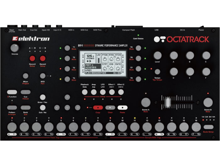 ELEKTRON OCTATRACK DPS-1 展示品特価品